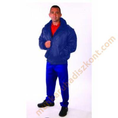 Rock pilóta téli dzseki kék