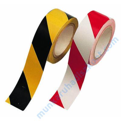 Öntapadós jelölőszalag, jelzőszalag Sárga/fekete SE2620