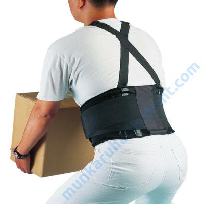 Deréktámasz,tépőzáras könnyű rugalmas spandex