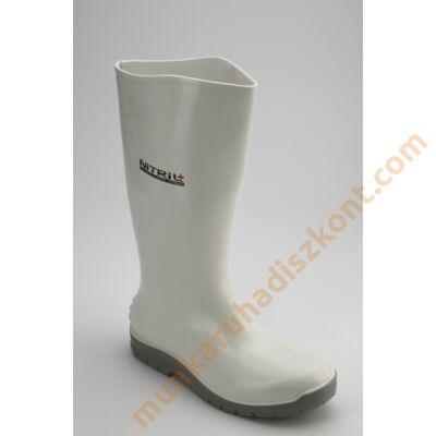 Nitril+ Fehér PVC-nitril-kaucsuk csizma S4 acélbetétes