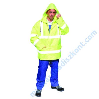 HVJACKET Jól láthatósági dzseki sárga