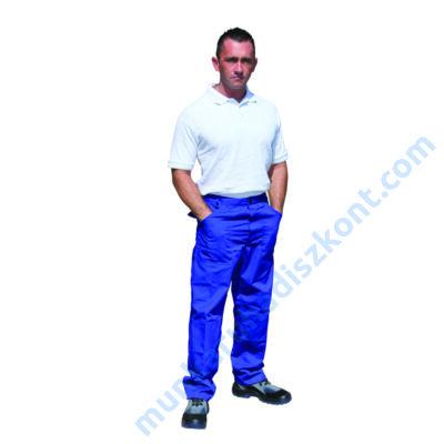 ecoblue derekas nadrág kék munkaruha