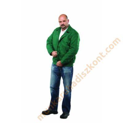 Ecogreen téli dzseki zöld 270gr 100% pamut anyagból KIFUTÓ