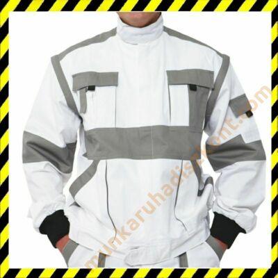 Max munkaruha kabát fehér