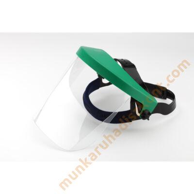 Víztiszta polikarbonát arcvédő látómező SE176G