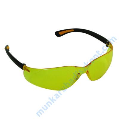 SE2266 Sárga polikarbonát páramentes védőszemüveg