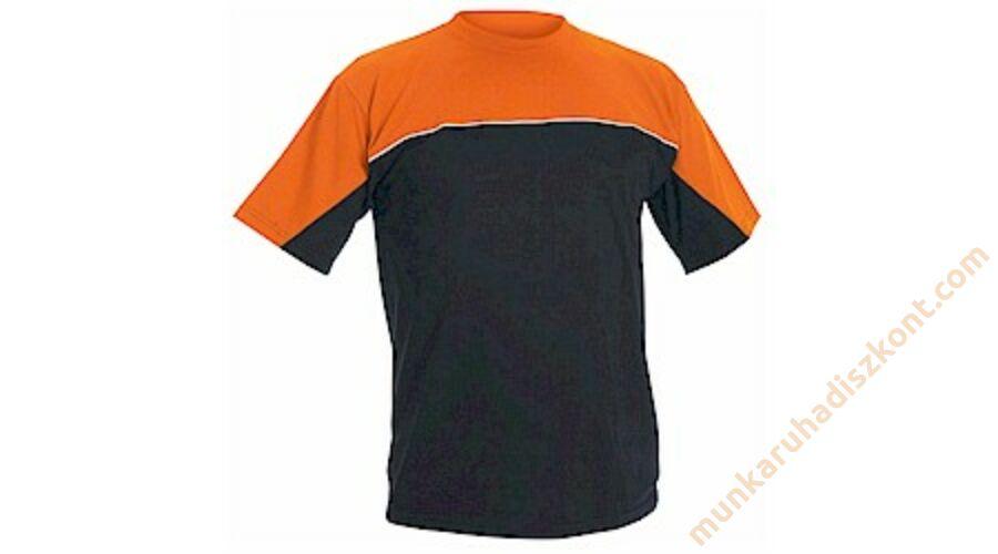Emerton póló fekete-narancs - Emerton munkaruha - Munkaruha Webshop ... eceac53d50