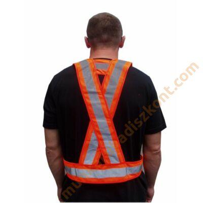 Jólláthatósági vállpánt, kantár narancs szín, RSV008-O