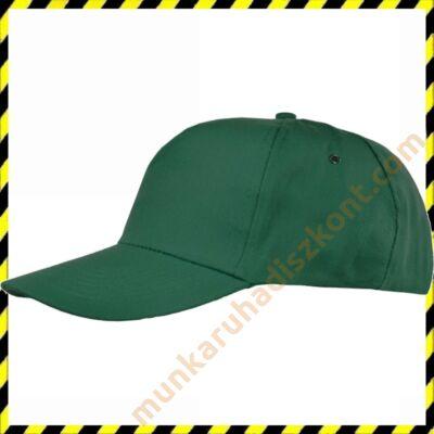 Zöld baseball sapka
