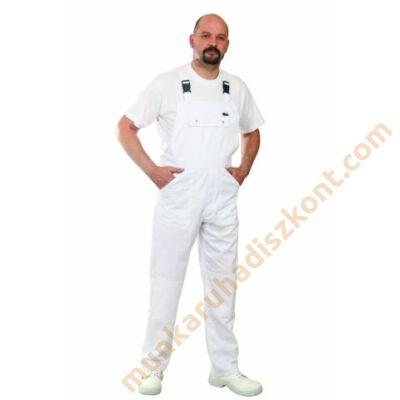 ECOwhite Melles kantáros nadrág fehér Kifutó