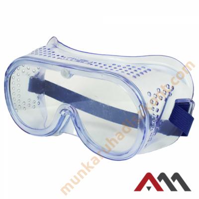 B601 munkavédelmi szemüveg zárt