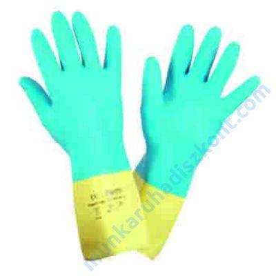 2095010 Mix color ipari gumikesztyű Neoprén/Latex 32Cm