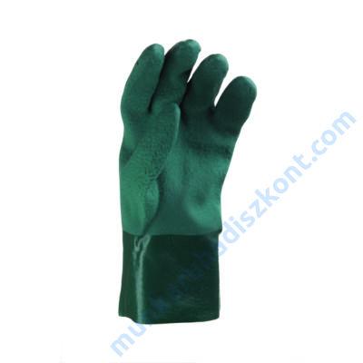 2953D Zöld PVC kesztyű