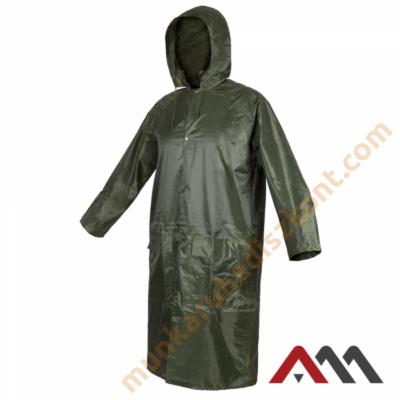 RainGear zöld színű orkán esőkabát esőköpeny